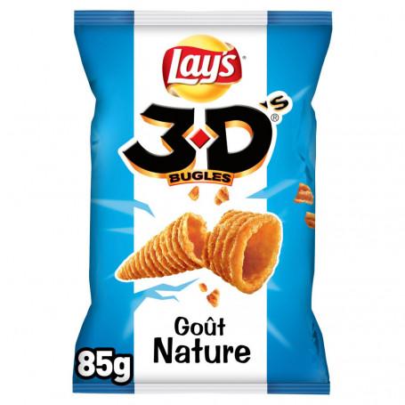 3d's bugles goût nature lay's 85 g
