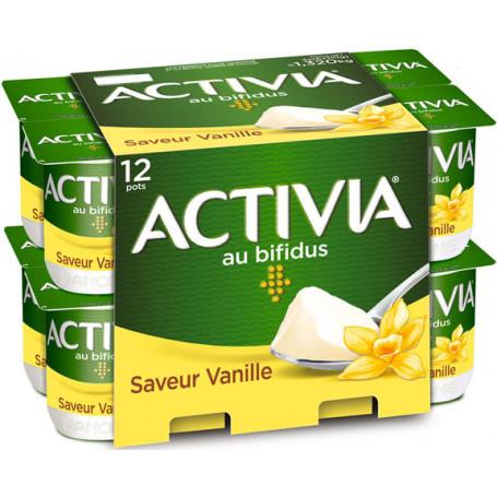 actiivia ferme vanille 12x110g