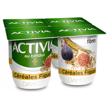 activia figues cereale 4x110g