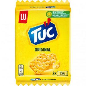 biscuits apéritif original (2x75grs) tuc 150 grs