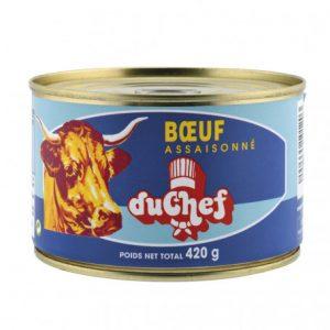 boeuf assaissone 420g duchef
