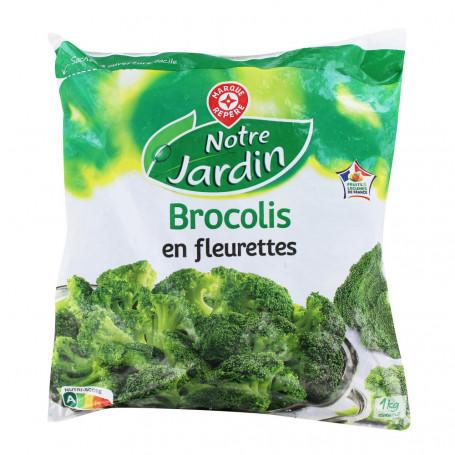 brocolis en fleurette notre jardin 1kg