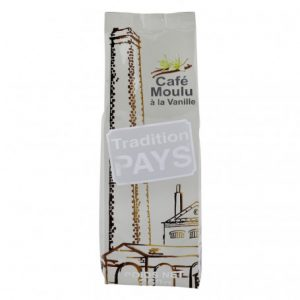 cafe moulu a la vanille tradition pays 250 grs
