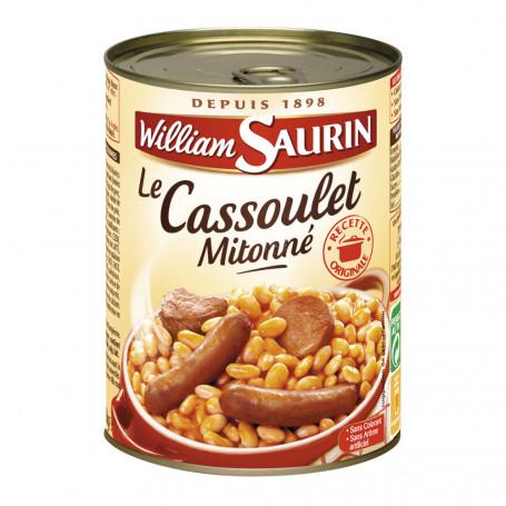 cassoulet william saurin 420 g