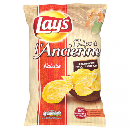 chips à l'ancienne nature lay's 145 g