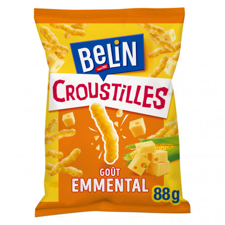 croustilles emmental belin 88g