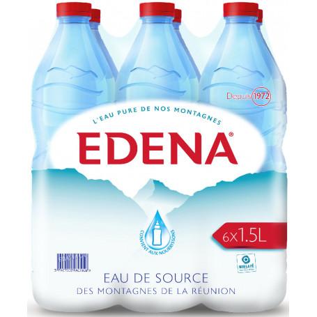 eau edena pack 6x1,50l