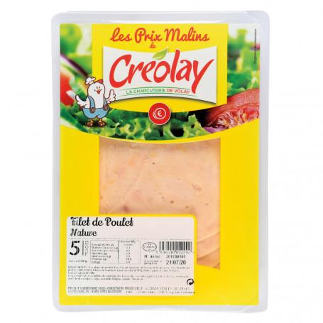 filet de poulet nature x 5- creolay