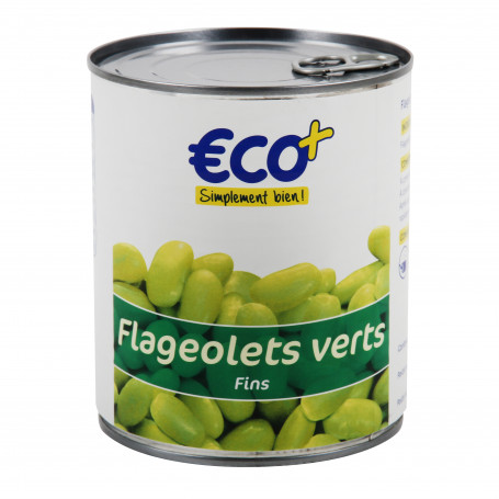 flageolet vert fin 4/4 eco+ 530grs