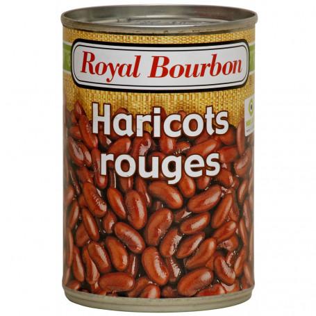 haricot rouge au naturel royal bourbon 400 g