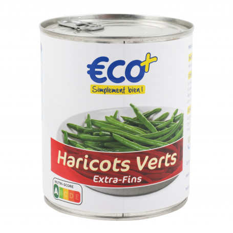 haricot verts etra-fins eco+ 440grs