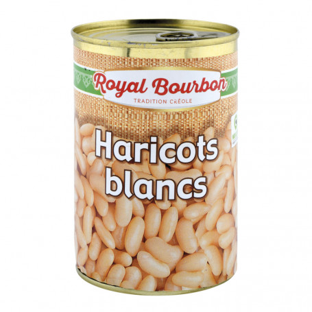 haricots blancs naturels 1/2 royal bourbon 250grs
