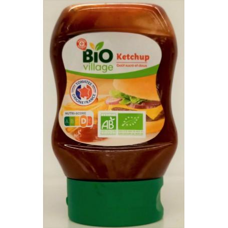 ketchup - bio village - 290 g