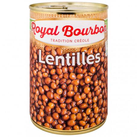 lentilles naturelles 1/2 royal bourbon 265grs