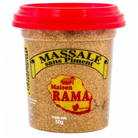 massalé sans piment maison rama pot 50grs