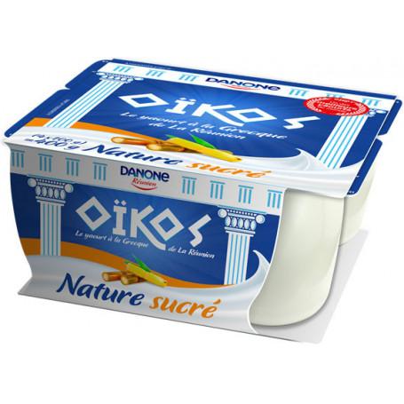 oikos nature sucre 100gx4