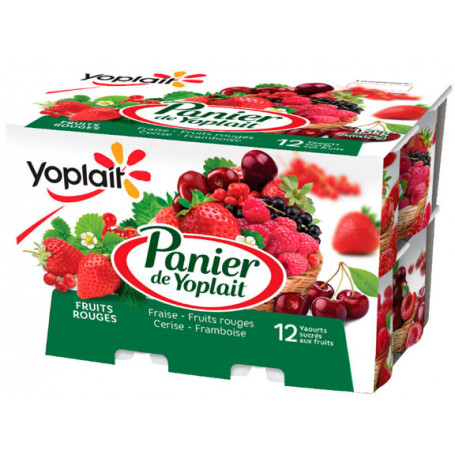 panier fruits rouges 12x125g
