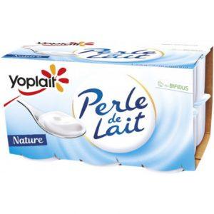 yaourts perle de lait nature  12 x 100