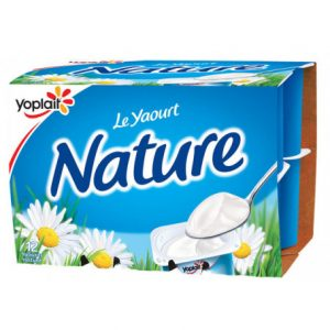 yaourt nat. yoplait 12 x 125g