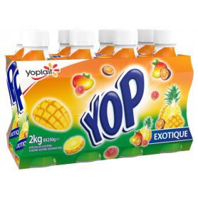 yop exotique 8x250g yoplait