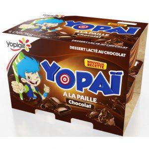 yopai chocolat 12x90g yoplait